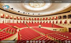 We created virtual tour for Pałac Kultury i Nauki in Warsaw.  You can see it on: http://www.pkin.pl/panorama/