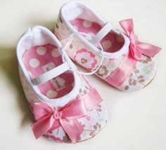 Candy Floss Baby Shoes