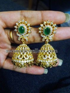 Screw Back Earrings and Jhumkas | Jewellery Designs