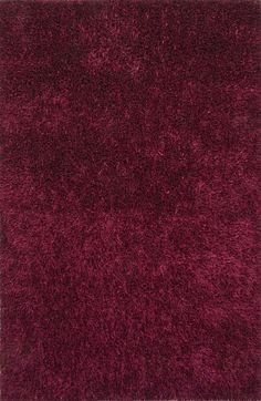Flux Purple Solid Area Rug