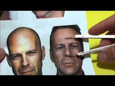 ESCULTURA CABEÇA MASCULINA EM POLÍMERO - PARTE 2 (final) Sculpture Lessons, Sculpture Clay, Anatomy Sculpture, Sculpting Tutorials, Vídeos Youtube, Plaster Art, Making Faces, Bruce Willis, Living Dolls