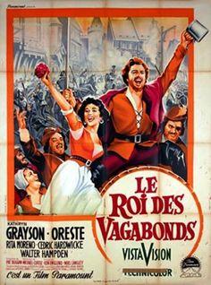 le roi des vagabonds affiche | Le Roi des vagabonds (The Vagabond king)