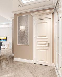 Интерьер прихожей, дизайн холла, дизайн-проект квартиры в стиле нео-классика, интерьер с элементами ар-деко