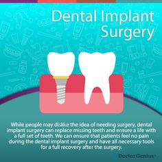 one or more of your teeth fall out, you may qualify for dental implants as a way to permanently replace the missing teeth. In order to find out, schedule an appointment with our Springfield Township dentist office by calling Dental Implant Surgery, Implant Dentistry, Teeth Implants, Cosmetic Dentistry, Maxillary Sinus, Tooth Replacement, Missing Teeth, Emergency Dentist, Dental Center