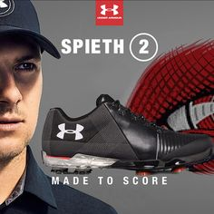 Under Armour Spieth 2 Golf Shoes - Black graphite  986b9cda8