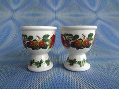 Portmeirion Pair Of Egg Cups In Pomona Design - POM128