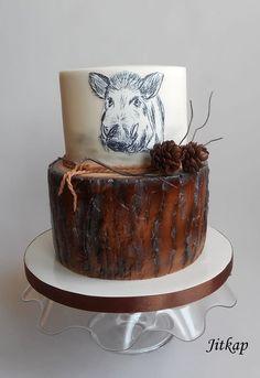Hunter cake by Jitkap