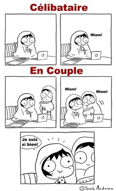 New Funny Relationship Comics Sarah Andersen 30 Ideas Memes Humor, Funny Jokes, Hilarious, Dating Memes Funny, Sarah Anderson Comics, Sarah's Scribbles, Relationship Comics, Relationship Goals Funny, Relationship Questions