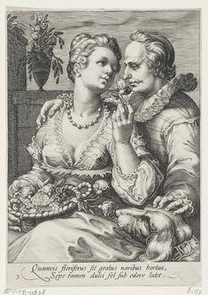 De Reuk, Jan Saenredam, Hendrick Goltzius, Cornelius Schonaeus, 1575 - 1607