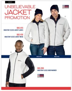 #UnbelievableJacketpromotion  contact us for a quote on putting your brand out there on a corporate wear piece.  It's not as expensive as you think.