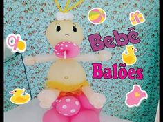 Como Fazer BEBÊ DE BALÕES (Balloon baby--Bebé Globos) - YouTube