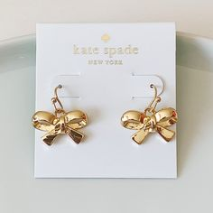 Brand new in perfect condition Kate Spade Earrings, Place Cards, Place Card Holders, Classic, Derby, Classic Books