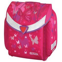 Herlitz Tornister szkolny Flexiu Pink Butterfly