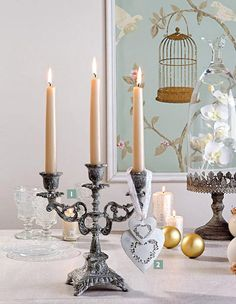 The special atmosphere — we decorate an interior with candles! - свечи в интерьере