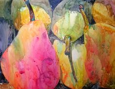 Watercolor Artists International - Contemporary Fine Art International: Appearently Pears