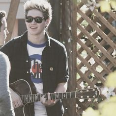 a boy and his guitar <3