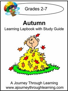 Autumn Lapbook with Study Guide by AJTL. Oct 2012 special: 50% off the instant download with code - Harvest50. Enjoy! #homeschool #autumn #fall