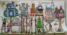 Floresta Encantada- Vila das casas- Ana Laura