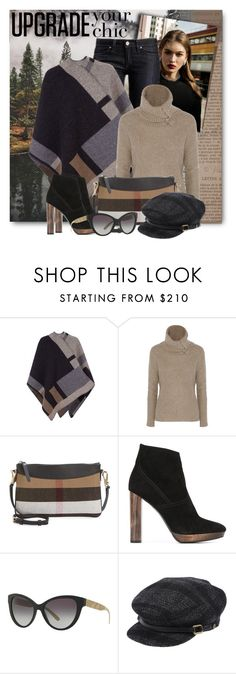 """""""Burberry Mini Crossbody Bag"""" by brendariley-1 ❤ liked on Polyvore featuring Burberry, Autumn Cashmere and Minime"""