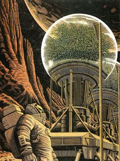"Adventures by Douglas Smith, via Behance ****If you're looking for more GREAT Sci Fi, Look out for Nathan Walsh's Dark Science Fiction Novel ""Pursuit of the Zodiacs. Arte Sci Fi, Sci Fi Art, Laurent Durieux, Douglas Smith, Sci Fi Kunst, Science Fiction Kunst, Arte Tribal, Steampunk, Scratchboard"