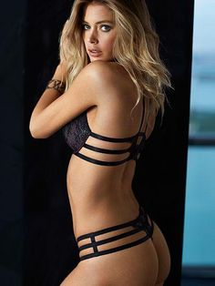 The sexiest combination? A little lace & a lotta straps. / Lace Strappy Back Push-Up Bra