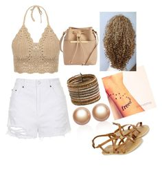 """""""Beach Babe !"""" by kayla-daniels on Polyvore featuring Topshop, Accessorize, Ted Baker, Zad and Amour de Pearl"""