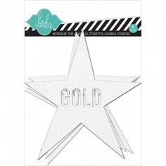 HEIDI SWAPP - COLOR MAGIC TAGS HS01188 - STARS  Heidi Swapp-Color Magic Cardstock Watercolor Tags: Stars. Perfect for all your paper crafting projects and more! This package contains eight 5x4-1/2 inch cardstock watercolor tags with eight different phrases.