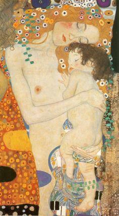 Maternidad Gustav Klimt