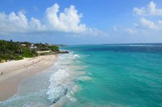 Pink sands of Crane Beach in Barbados