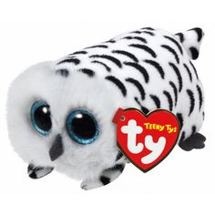 Nellie Owl - Teeny Tys 4 inch - Stuffed Animal by Ty (42142)