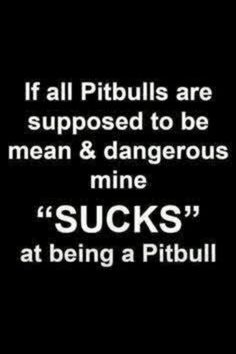 #pitbulls #truth