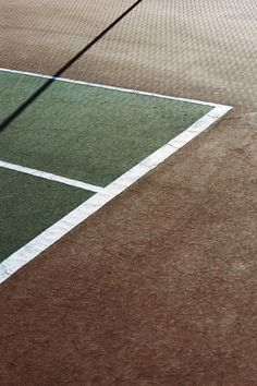 Focus on geometry and shape of tennis -- in it the foundations of the sport and the foundation of my portfolio/life
