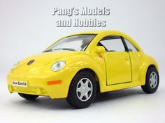 Volkswagen - VW - New Beetle 1/32 Scale Diecast Metal Model by Kinsmart