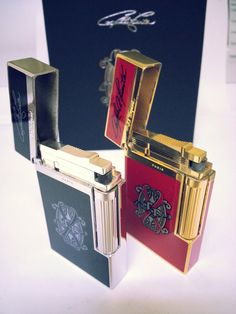 S. T. DUPONT LIGHTER  2 Limited Edition  by STUNNINGCOLLECTIBLES