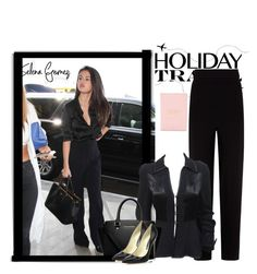 """""""Travel in style,Holiday Edition with Selena Gomez"""" by pink1princess ❤ liked on Polyvore featuring Balenciaga, Ossie Clark, MICHAEL Michael Kors, Brian Atwood and Kate Spade"""