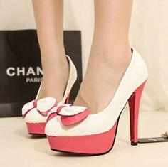 Pink high heels - spring 2013