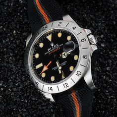 The latest Rolex Explorer II. Ref. 904L Steel - Black Dial 216570. 42 mm. Customized by the Hillary Tenzing Edition Project. http://www.hillarytenzingedition.com/