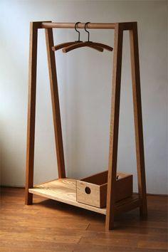 Hanger/rack set for children.