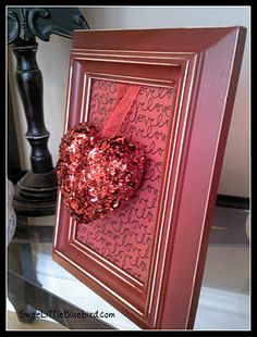 Super Cute & Easy DIY Valentine Decor~ Great Gift!