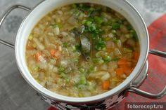Суп грибной с перловкой рецепт