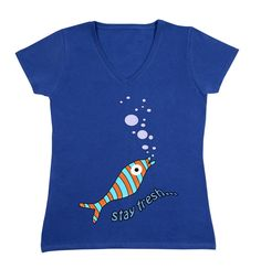 "Damen T-Shirt ""Stay fresh. Shirt Stays, Stay Fresh, Mens Tops, T Shirt, Stuff To Buy, Women, Fashion, Funny, Supreme T Shirt"