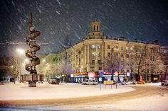 winter city  City and architecture photo by lexvoro1 http://rarme.com/?F9gZi