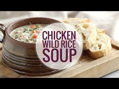 Crockpot Chicken Wild Rice Soup Recipe - Pinch of Yum