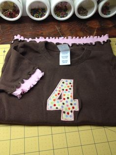4th Birthday shirt