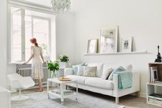 my scandinavian home: A pretty Stockholm space in pastels