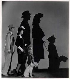 William Powell, Myrna Loy, Richard Hall as Junior and Asta - Love the Thin Man movies.