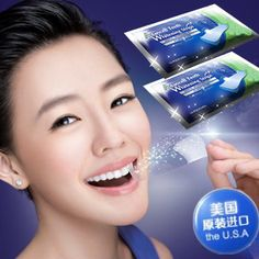 14 Packs 28 Pcs Oral Hygiene Teeth Whitening Strips Professional Bleaching Tooth Whitening Products Double White Gel Dental Gel