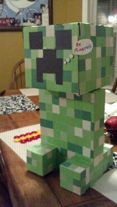 Valentineu0027s Day Creeper box & Knockdown Creeper Game | Minecraft Party | Pinterest | Creepers ... Aboutintivar.Com