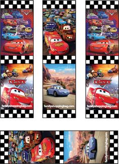 print free cars movie printables from invitations, to color pages, party hats, and favor boxes. Disney Bookmarks, Free Printable Bookmarks, Bookmarks Kids, Paper Bookmarks, Disney Cars Party, Disney Cars Birthday, Cars Birthday Parties, Disney Printables, Free Printables