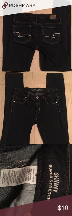 🌺 American Eagle Outfitters Skinny super stretch, gently used. No offers accepted on items $20 or less 🌺 American Eagle Outfitters Jeans Skinny